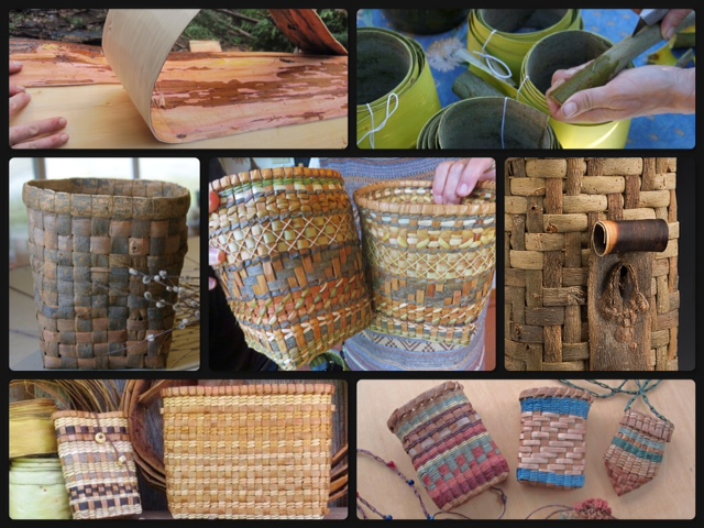 Bark Basketry from harvest to weaving 3 day conference