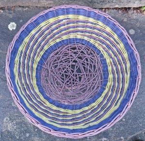 Random Wicker Woven Basket