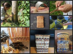 Bark Basketry-Cell Phone holder
